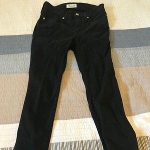 Madewell Black High Rise Skinny Jeans in size 26P